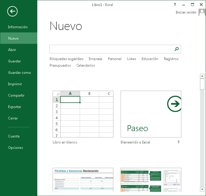 Crear y administrar libros y hojas de trabajo | Ejercicios de Excel ...