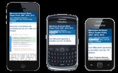 Configurar un sitio web para dispositivos móviles