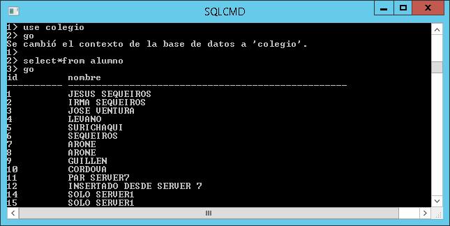 SQLCMD de Sql Server