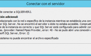 Error 40: Names Pipes Provider SQL Server