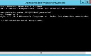 Como instalar .NET Framework 3.5 desde PowerShell en Windows Server 2012 R2