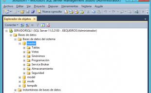 Restaurar la base  de datos MASTER en SQL Server 2012
